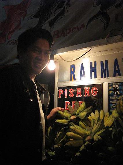 pisang epe losari