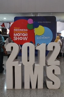 Indonesia International Motor Show (IIMS) 2012